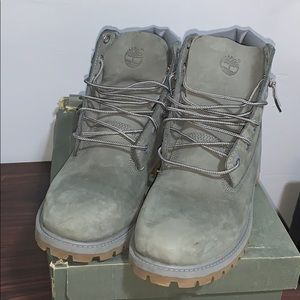 """Timberland """"Construction"""" Boots"""